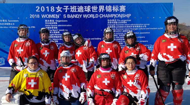 Equipe suisse féminine Chine